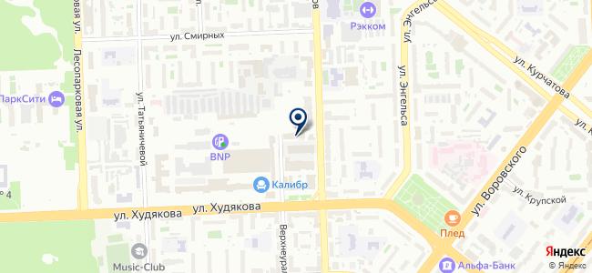 Глобальная инжиниринговая компания, ЗАО на карте