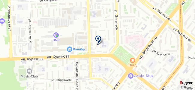 Ланзар, ООО на карте