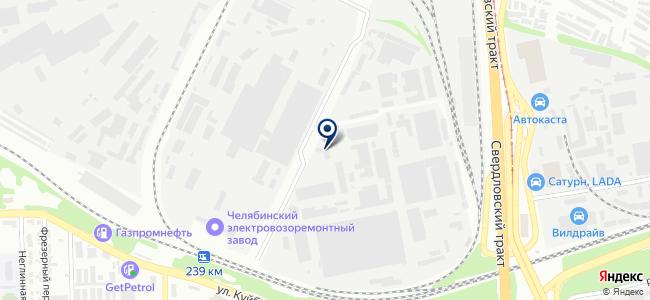ЧелябНИИконтроль, ЗАО на карте