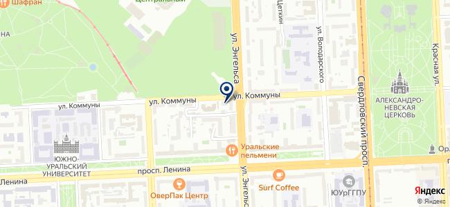 Центр обслуживания потребителей электроэнергии на карте