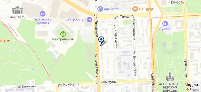 Лэдвин, ООО на карте