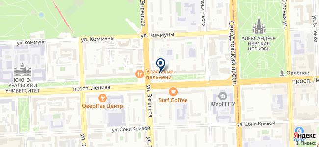 СКБ Контур на карте