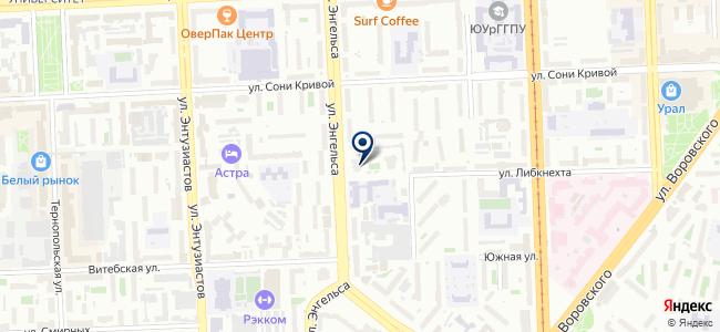 Прибор, ООО на карте
