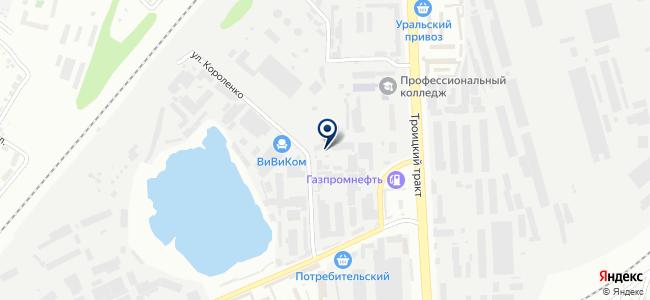 Электротехоборудование, ООО на карте