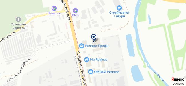 Технобум на карте