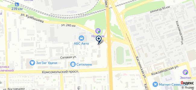 Лед сервис-Челябинск, ООО на карте