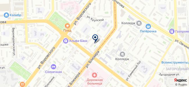 Акрон, ООО на карте