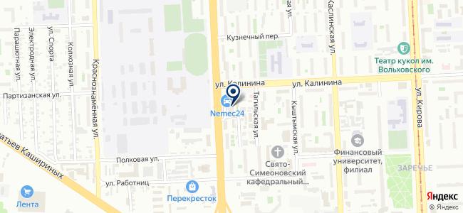 АВ-студия на карте