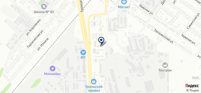 ЧелябСтройГрад, ООО на карте