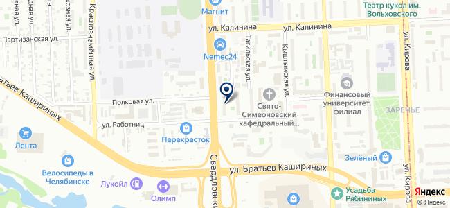 ПрофЭкономТендер на карте