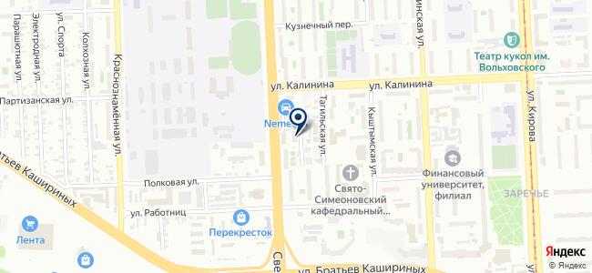 Ремонтная фирма на карте