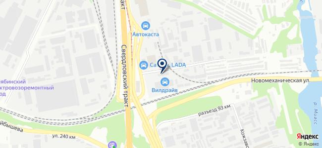 Тулс на карте