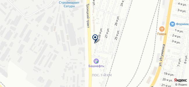 Котлов на карте