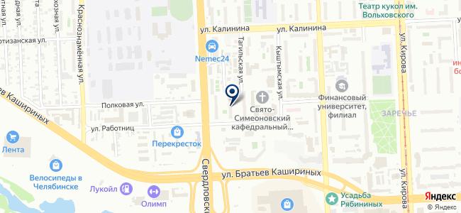 Электросфера на карте