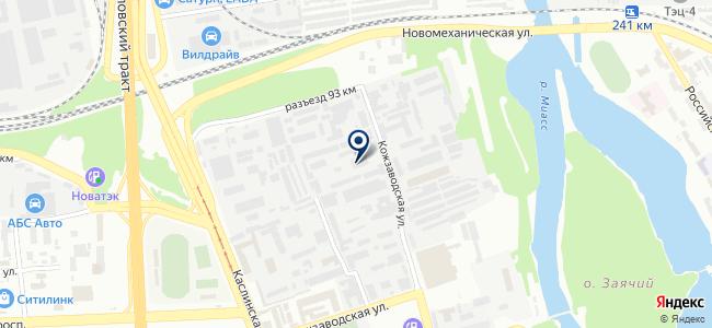 Монтажное управление №3, ЗАО на карте