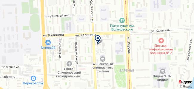 Вектра, ООО на карте