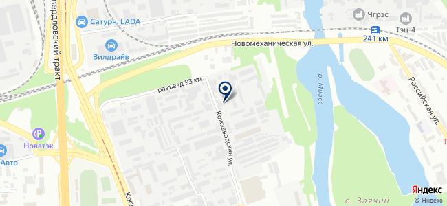 Мегаполис-Промкомплект, ООО на карте