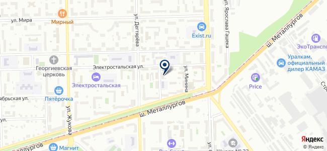 Союз, ООО на карте