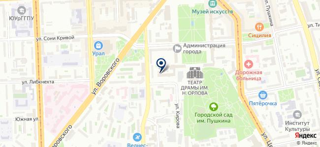 Уралтранссвязь, ООО на карте