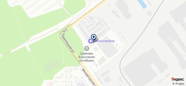 Теплоприбор, ООО на карте