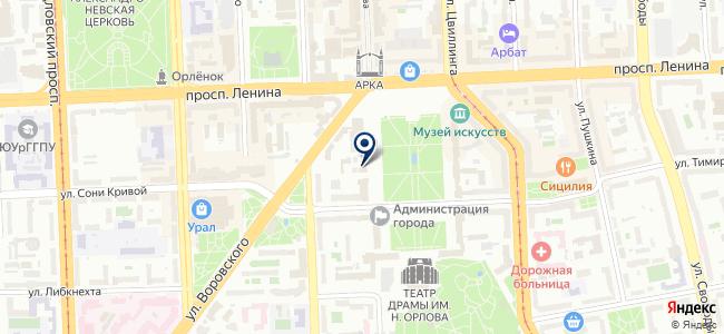 Гарнизон, ООО на карте