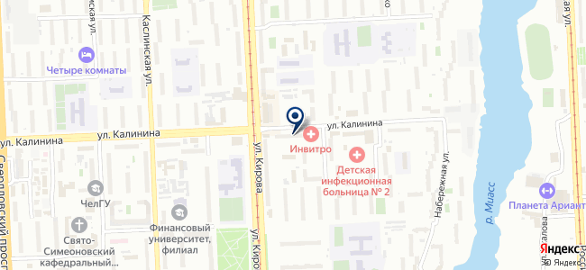 Электропродукт на карте