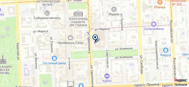 ЧЭМЗ на карте