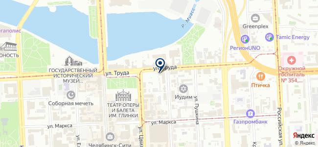 Челябредуктор, ЗАО на карте