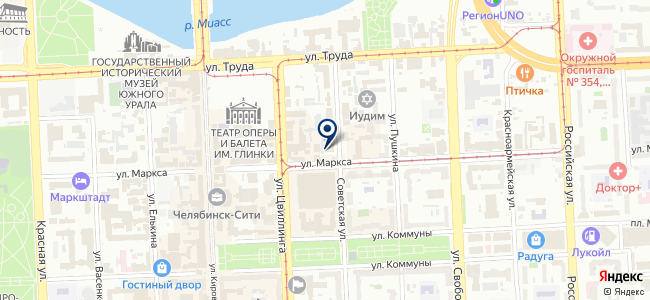 Тепломеханика, ООО на карте