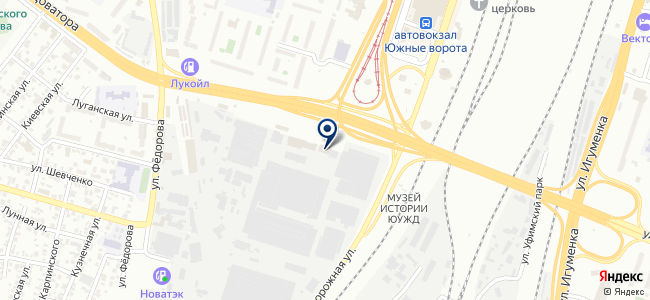 Уралтеплоресурс, ООО на карте