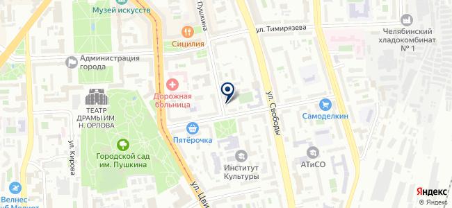 ИдеалСтрой на карте