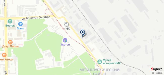 Востокметаллургмонтаж-1, ЗАО на карте
