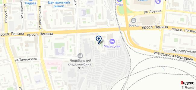 АвтоТехЦентр74, ООО на карте