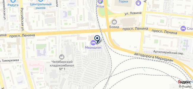 РОСЭК на карте