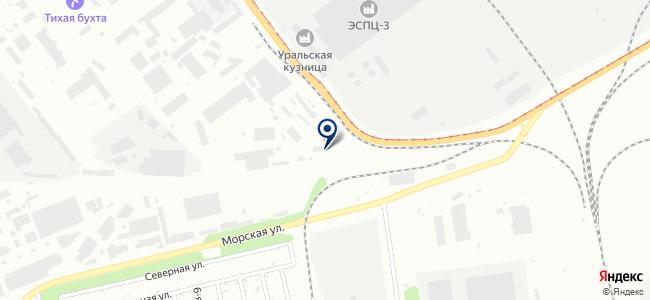 ТехноСервис 74, ООО на карте