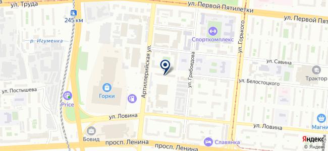 Инженерные сети-Интеграция, ООО на карте