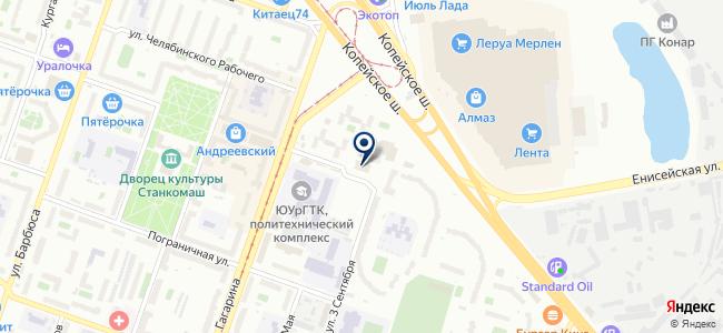 Кранрос, ООО на карте