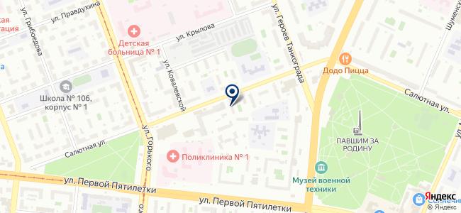 Энергомаш, ООО на карте