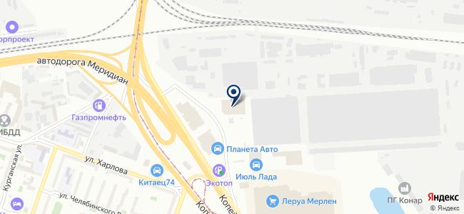Легион Моторс на карте