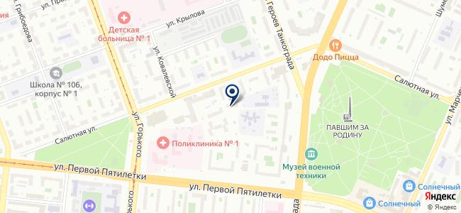 Динамика, ЗАО на карте