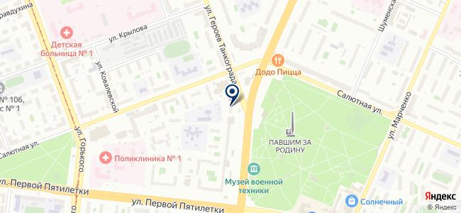 Новая Лига Челябинск, ООО на карте