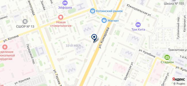 Центр услуг связи на карте