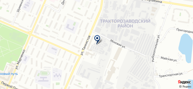 Метран, ЗАО на карте