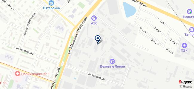 ПТ-СЕРВИС, ЗАО на карте