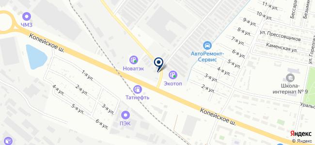 Починки на карте