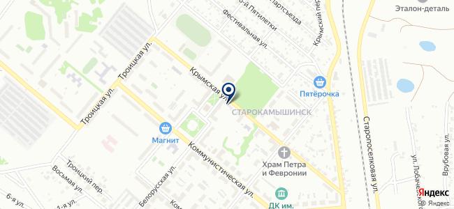 Магазин промтоваров на Крымской, 9 на карте