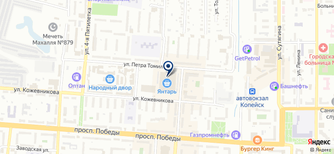 Электрика на карте