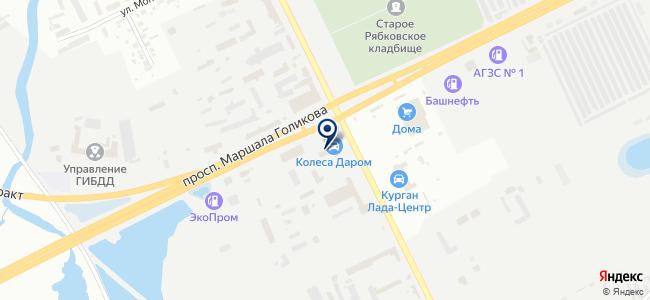 Автомагия на карте