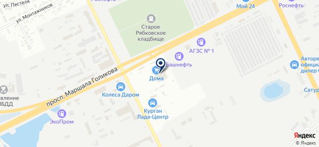 Зубр на карте