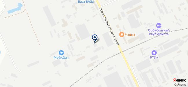 Курган-Восток-Сервис, ЗАО на карте